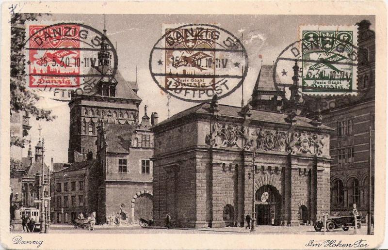 Südamerikafahrt 1930, Post nach Sevilla Scanne11