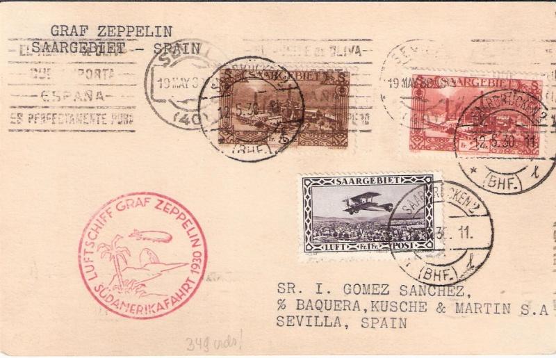 nach - Südamerikafahrt 1930, Post nach Sevilla - Seite 2 Scanne24