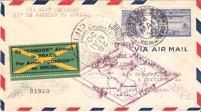 nach - Südamerikafahrt 1930, Post nach Sevilla - Seite 2 Scanne26