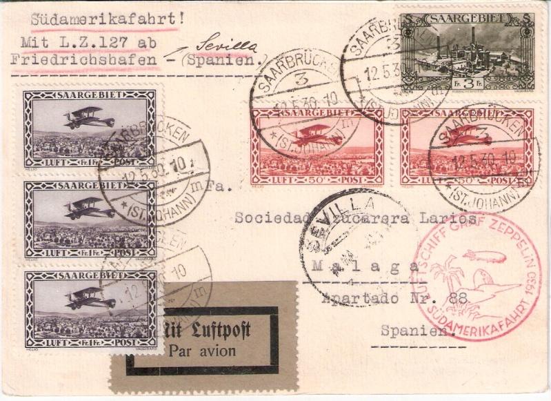 nach - Südamerikafahrt 1930, Post nach Sevilla - Seite 2 Sieger10