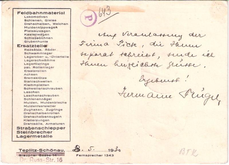 nach - Südamerikafahrt 1930, Post nach Sevilla - Seite 2 Sieger11