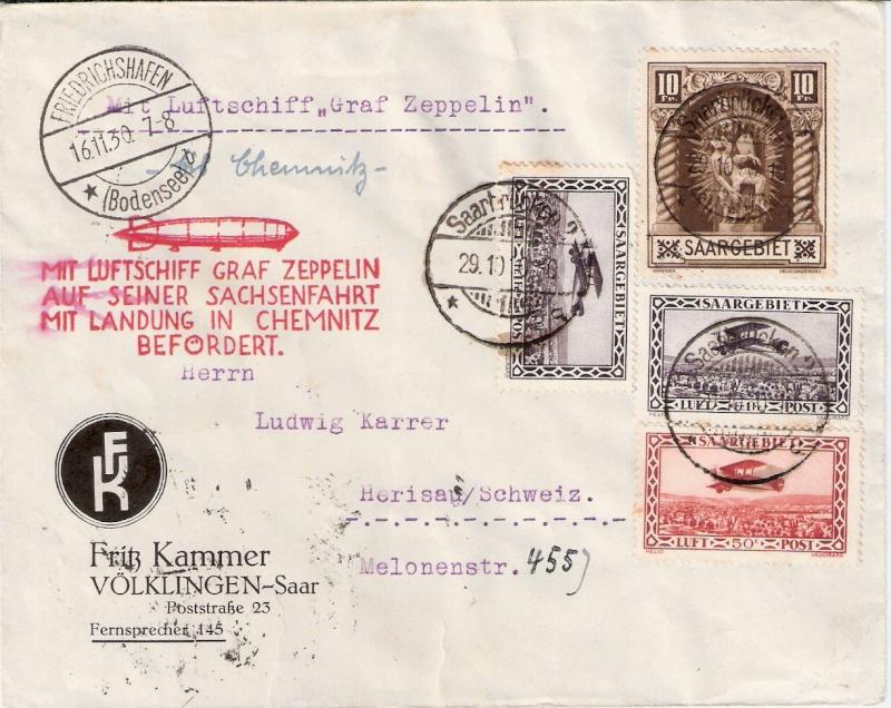 Zeppelin-Zuleitungspost - Seite 6 Sieger12