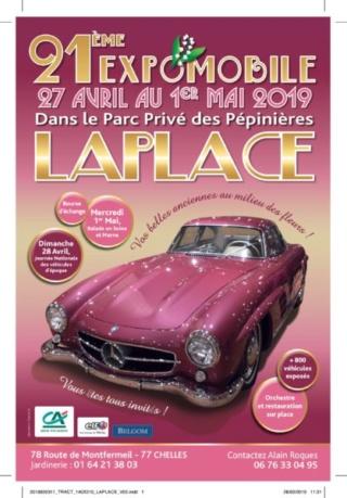 21ème Expomobile, les pépinières Laplace / Chelles (77) Affich11