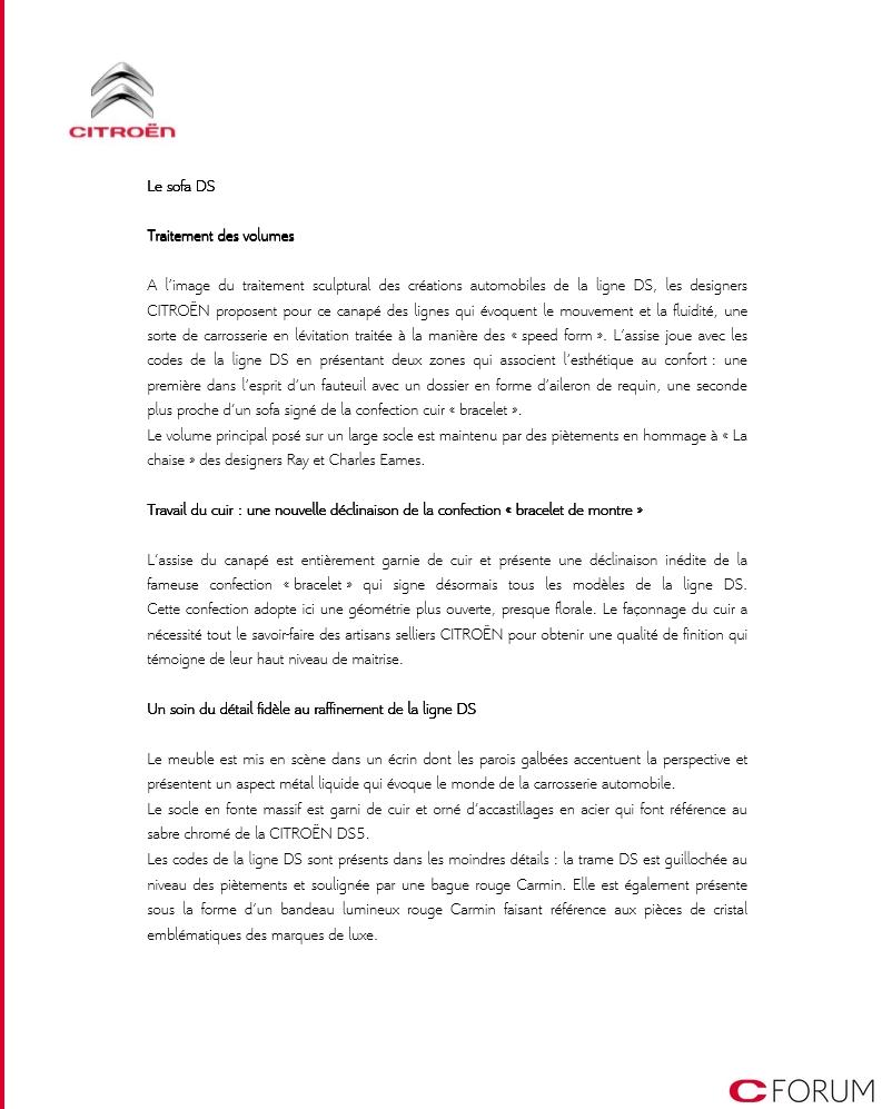 [INFORMATION] Ligne DS : produits dérivés 222210