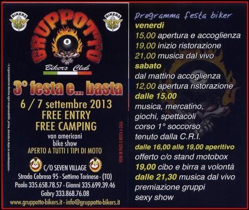 6-7/09/2013, Settimo T.se (TO), 3° Festa e...basta Screen10