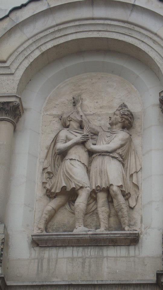 sculpture sur batiment à Nantes 60260_10