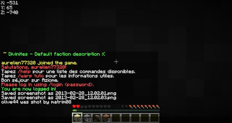 Réclamation d'un bug avec pour cause la perte de beaucoup de diamants 2013-013