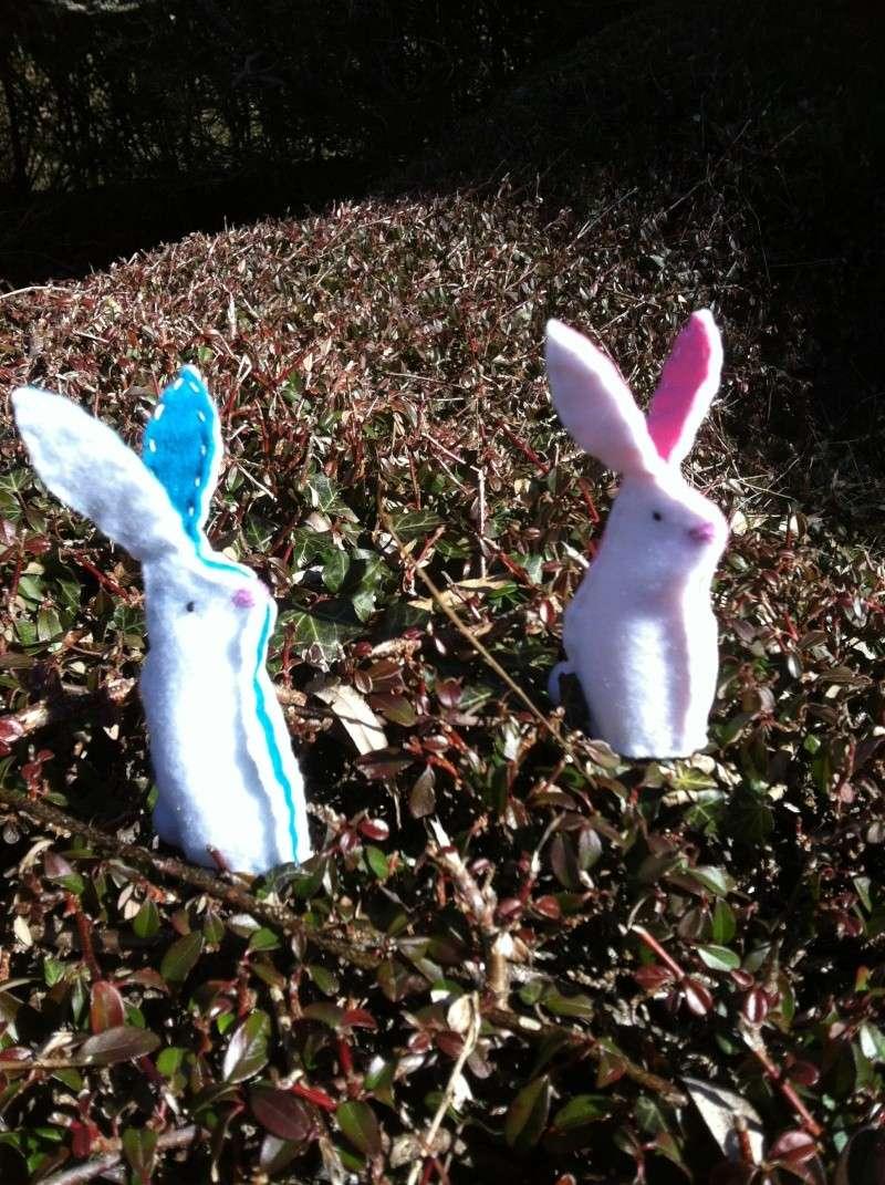 petits lapins en feutrine Img_1618