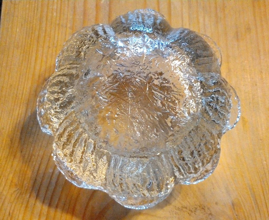Moulded glass bowl /vase Win_2012