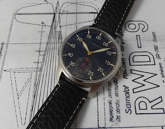 [Vendue] Gerlach RWD-6 petite seconde 170€ Dsc04311