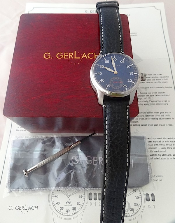 [Vendue] Gerlach RWD-6 petite seconde 170€ Dsc04514