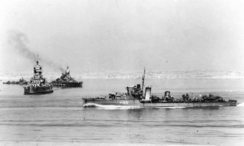 8 septembre 1943,la flotte italienne se rend aux Alliés 1943_910