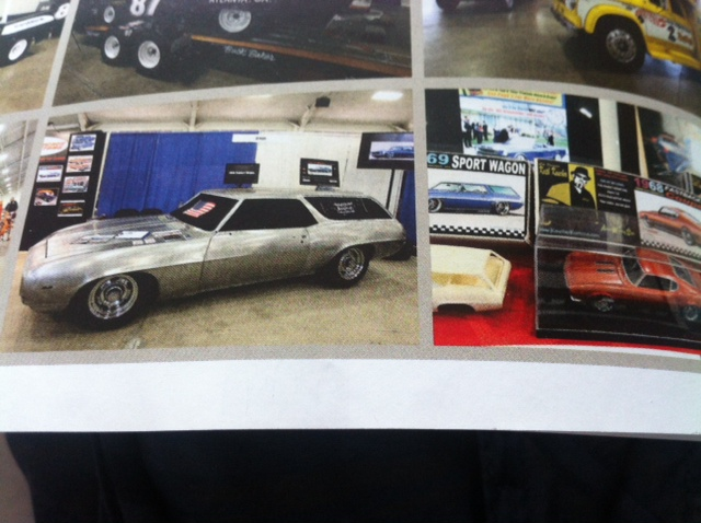 Camaro Sport Wagon 69' custom terminé  Photo13