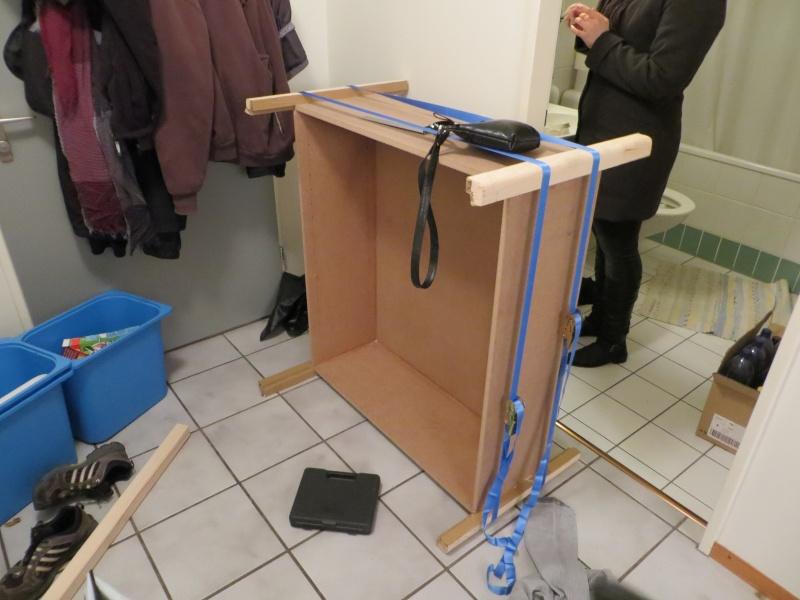 Un meuble pour chaussures et tri des déchets Img_0310