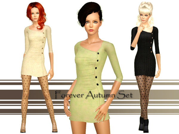 Forever Autumn Set By Ms Blue @ TSR Foreve10