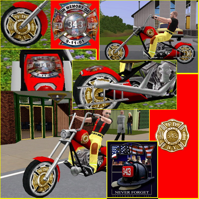 FDNY FireFighter Tribute Bike  Mts_wi10