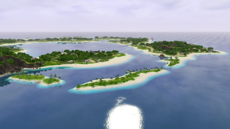 Sunlite Tides With Houseboats By Jack's Creations Screen61
