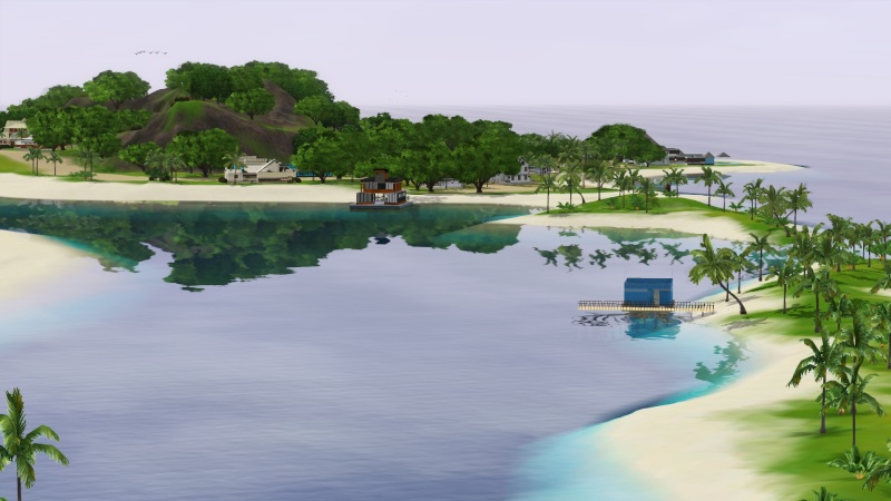 Sunlite Tides With Houseboats By Jack's Creations Screen62