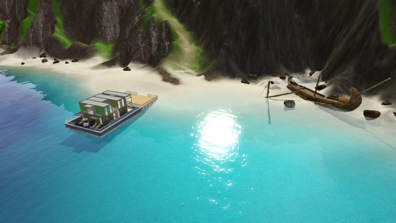 Sunlite Tides With Houseboats By Jack's Creations Screen63