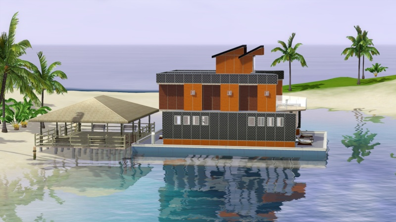 Sunlite Tides With Houseboats By Jack's Creations Screen64