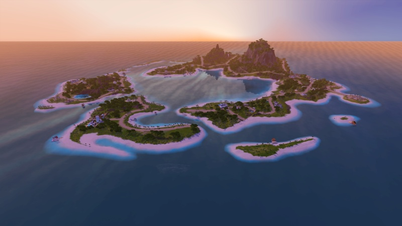 Sunlite Tides With Houseboats By Jack's Creations Screen65