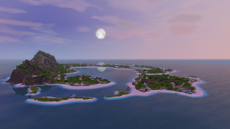 Sunlite Tides With Houseboats By Jack's Creations Screen66