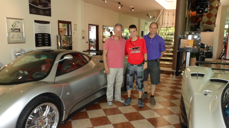 visite de l'usine PAGANI à Modène Sam_1110