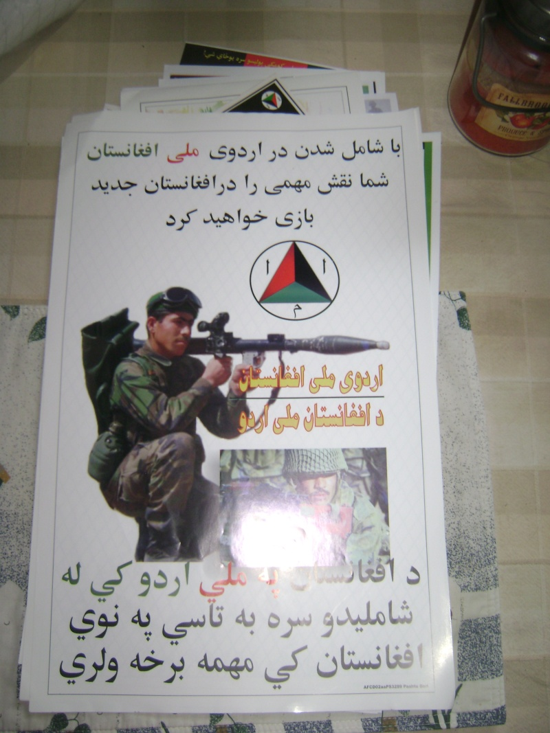 Afghan posters and leaflets and such 00310
