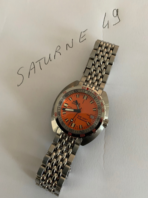 [Vends] Doxa SUB 1200 T Professionel Orange  Img_2912
