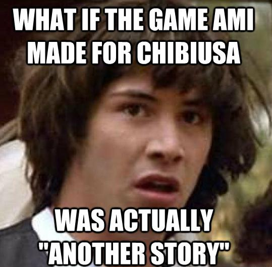 What if Chibiusa's Game... Keanu10