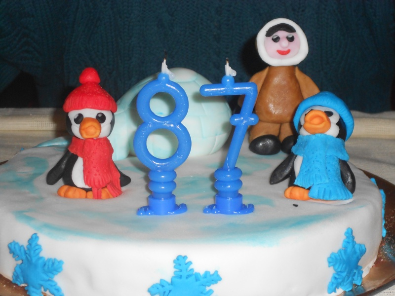 Torta Pinguini freddolosi Dscn1211