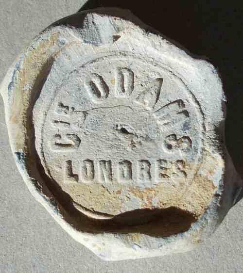Plomb d'un sac d'engrais de la marque ODAMS. 8110