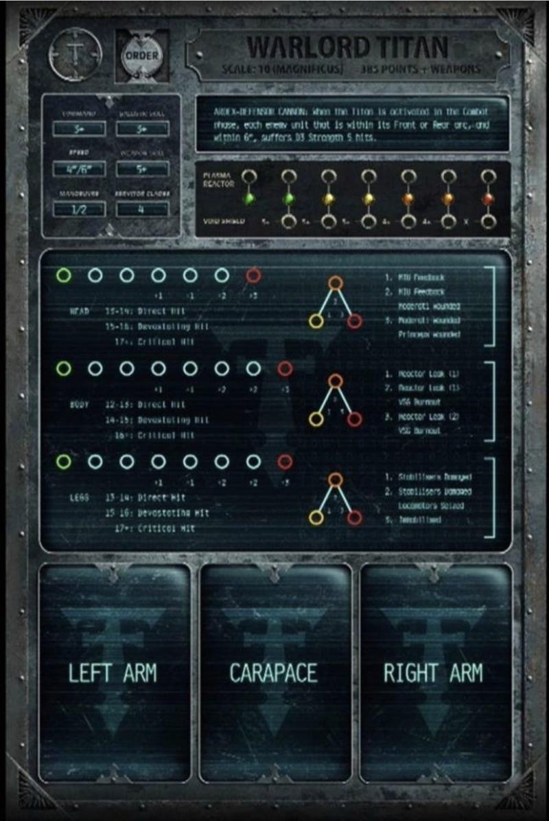 Adeptus Titanicus - A la découverte du jeu 5c9dd910