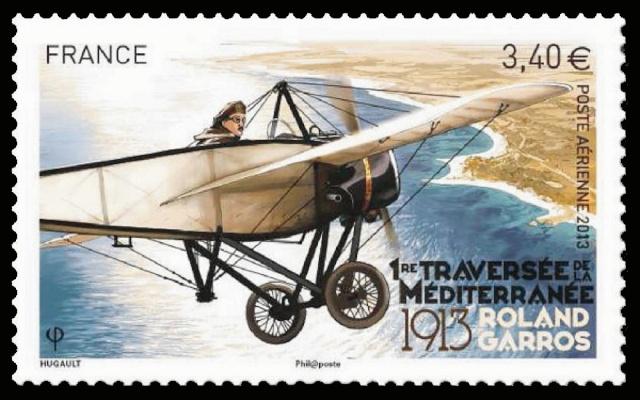 23 septembre 1913 - Centenaire de la traversée de la Méditérranée par Roland Garros Roland10