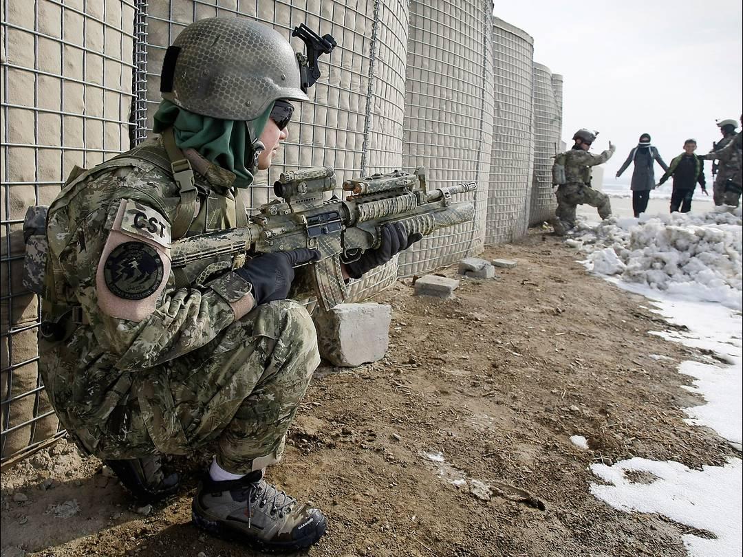 Nữ đặc nhiệm Afghanistan Afghan15