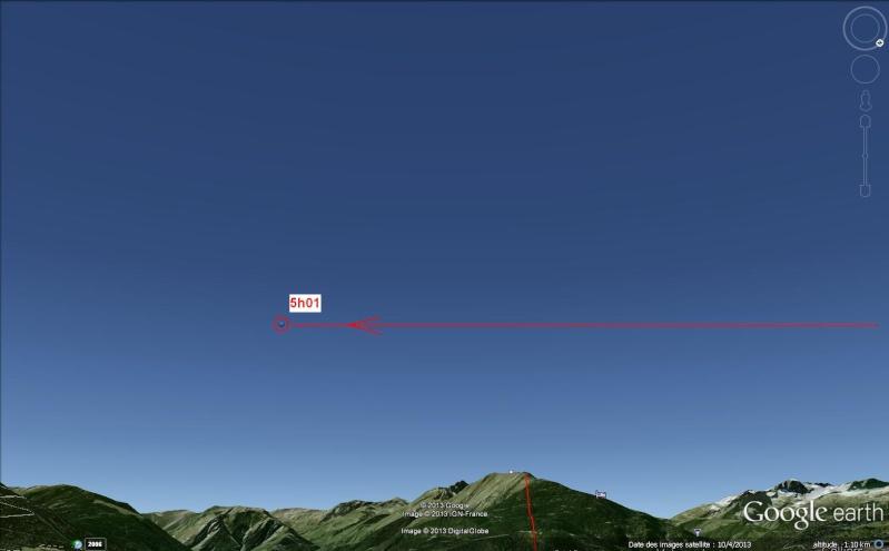 2013: le 05/08 à 05h00 - objet lumineux en forme de Y retournéOvni en Forme de triangle - Hautecour - Savoie (dép.73) Avion_10