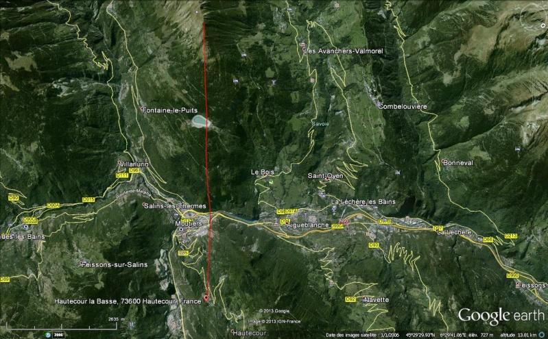 2013: le 05/08 à 05h00 - objet lumineux en forme de Y retournéOvni en Forme de triangle - Hautecour - Savoie (dép.73) Hautec10
