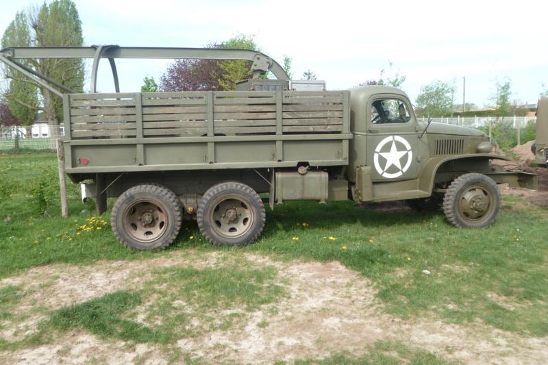 Ancien camion de l'armée US 5310