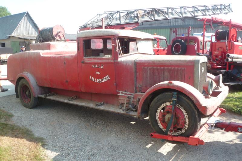 Berliet des pompiers Berlie19