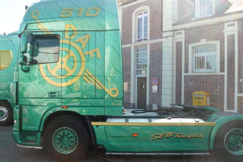 camions decorés Daf_512