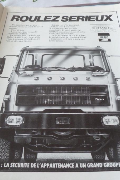 PUB ET CATALOGUES DODGE  Dodge10