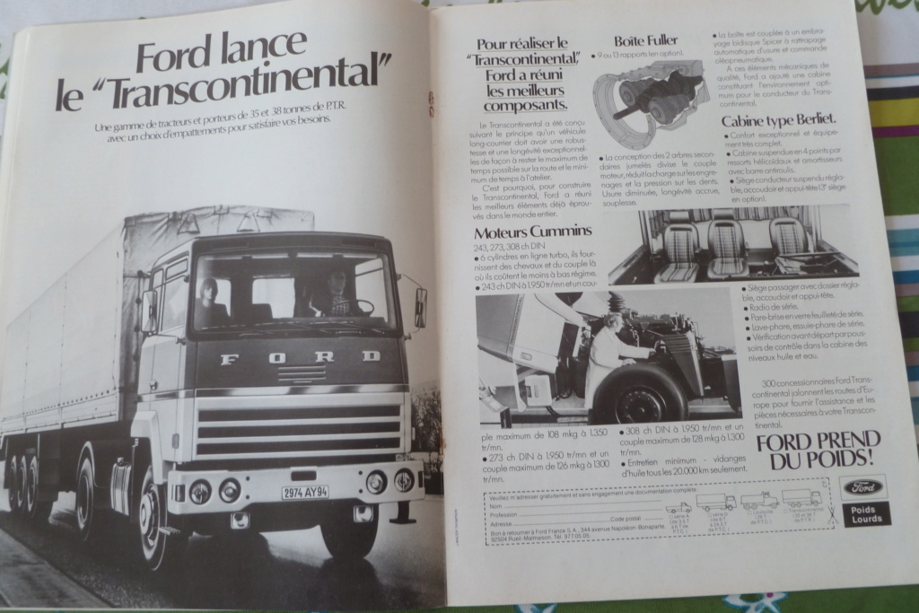 PUB ET CATALOGUES FORD  Ford10