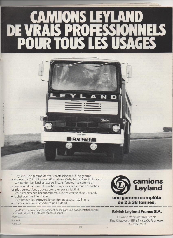 Pub et catalogues LEYLAND Leylan14