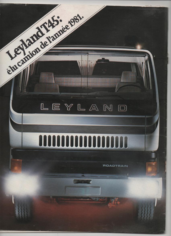 Pub et catalogues LEYLAND Leylan17