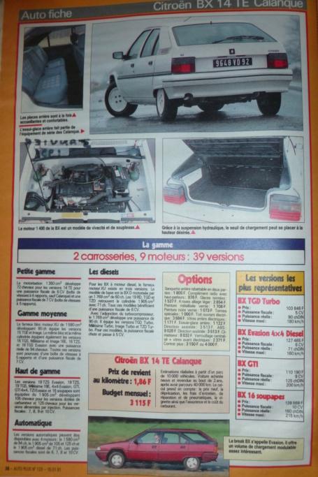 les YOUNGTIMERS (Citroën récentes: AX, BX , CX , XM....) - Page 4 P1070418