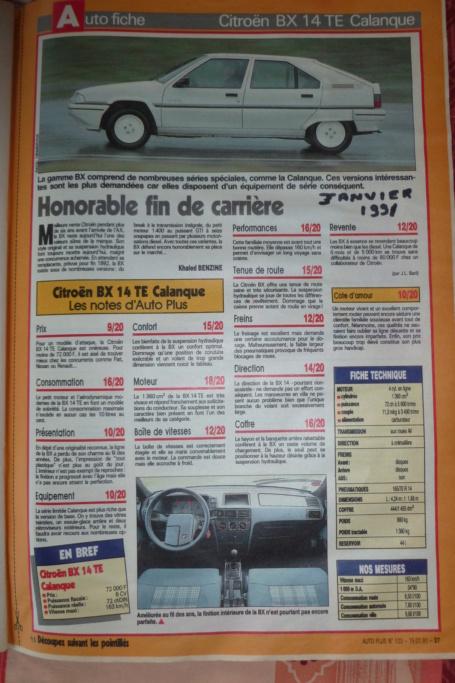 les YOUNGTIMERS (Citroën récentes: AX, BX , CX , XM....) - Page 4 P1070419