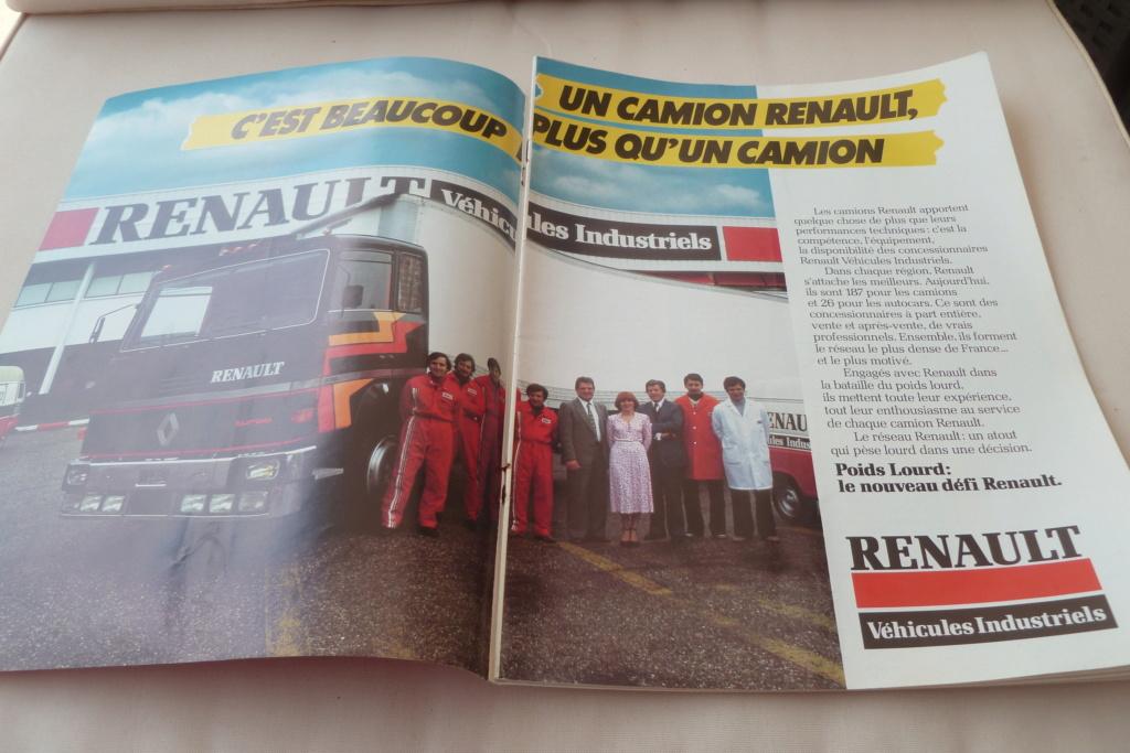 Pub et catalogues RENAULT....les camions Renau113