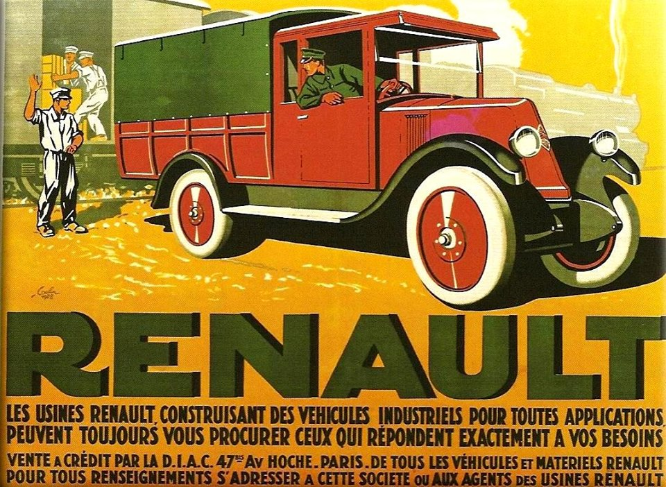 Pub et catalogues RENAULT....les camions Renau145