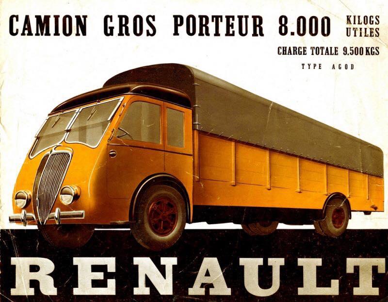 Pub et catalogues RENAULT....les camions Renau147