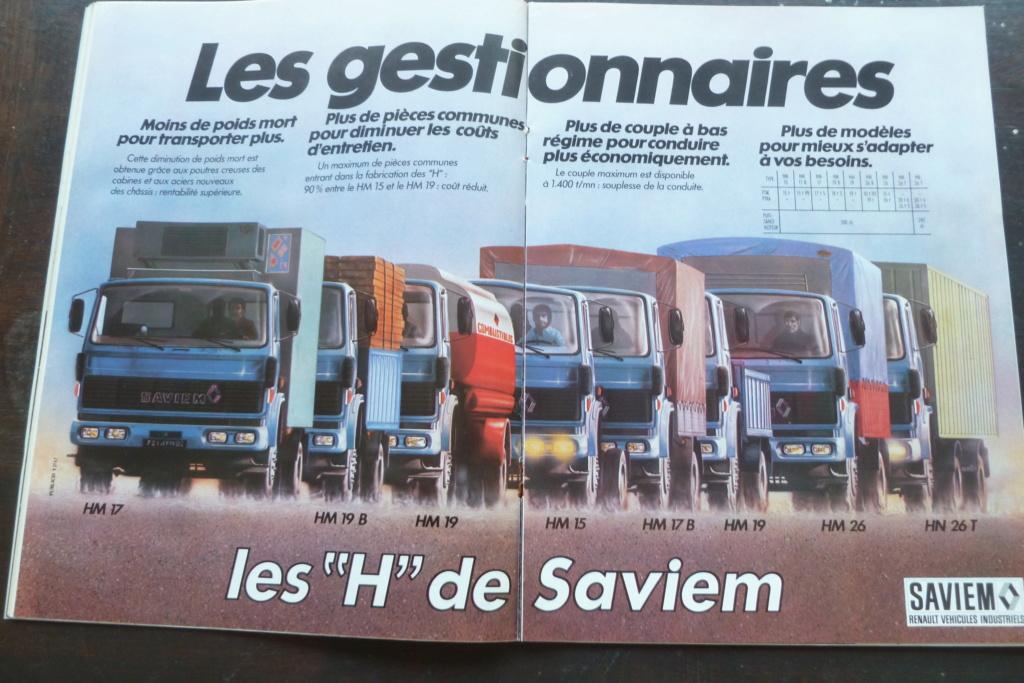 Pub et catalogues SAVIEM Saviem23